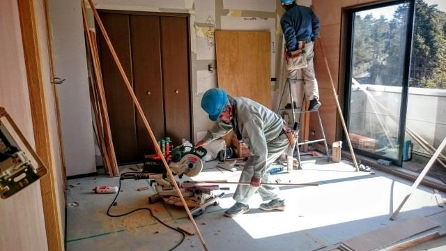 リフォーム工事の大工を奈良市で求人募集!